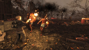 7 days to die burning zombies